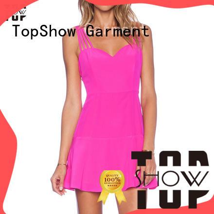 industry-leading v neck mini dress supplier street wear