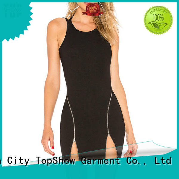quality summer mini dress splits for ladies TopShow