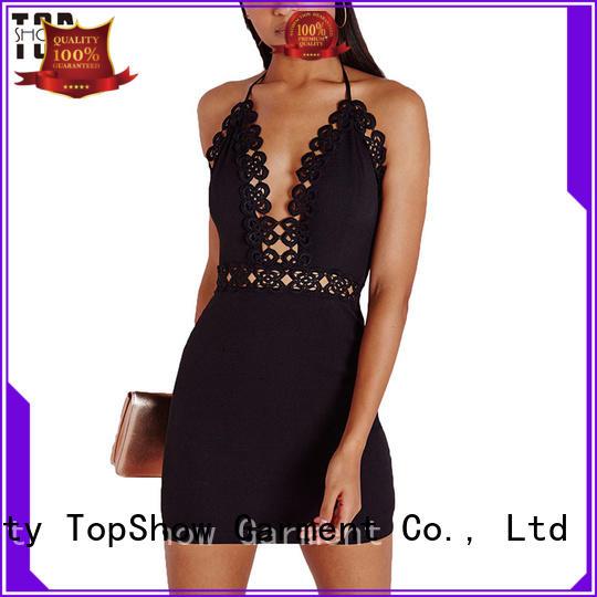 print ladies sexy dress supplier TopShow
