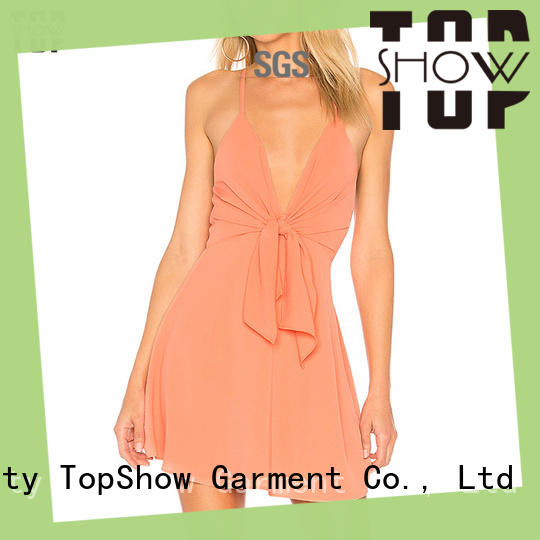 charming black and white mini dress free design from China TopShow