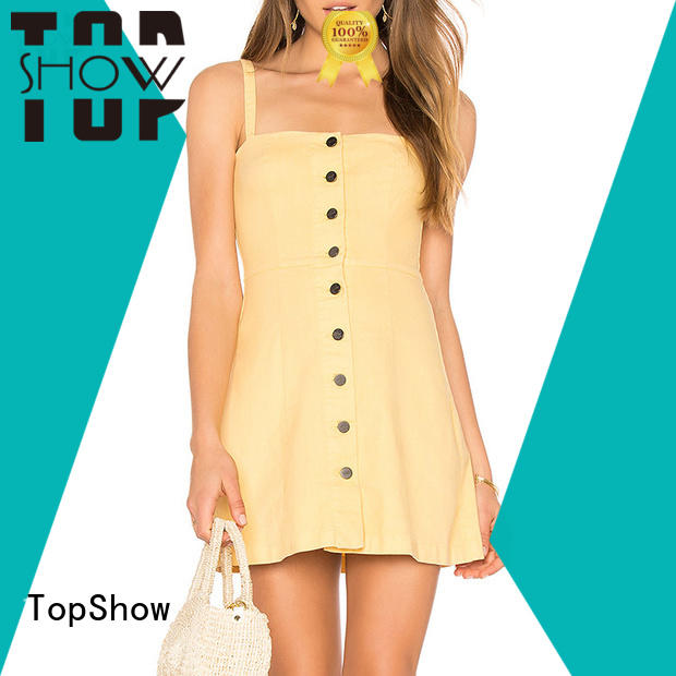 TopShow industry-leading pink mini dress supply with many colors