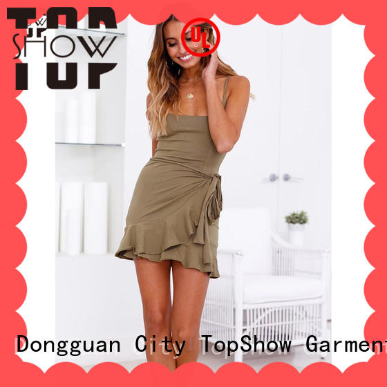 TopShow ladies sexy dress manufacturer for shopping
