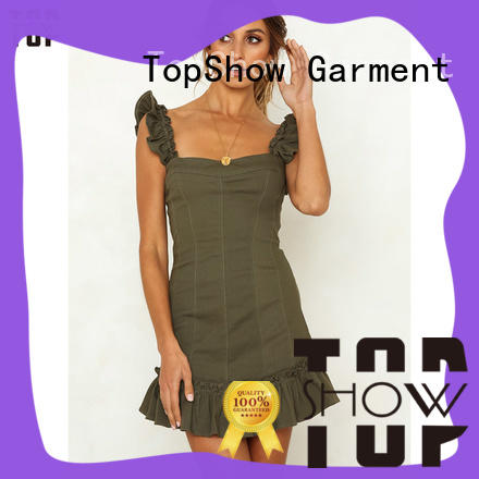 TopShow special pink and red dress for party