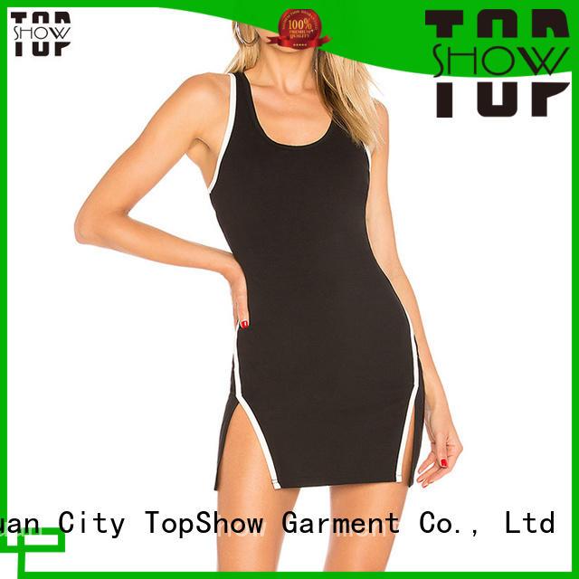 TopShow mini dress clubwear vendor for cosmetics