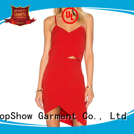 TopShow Brand color dress customization tie factory