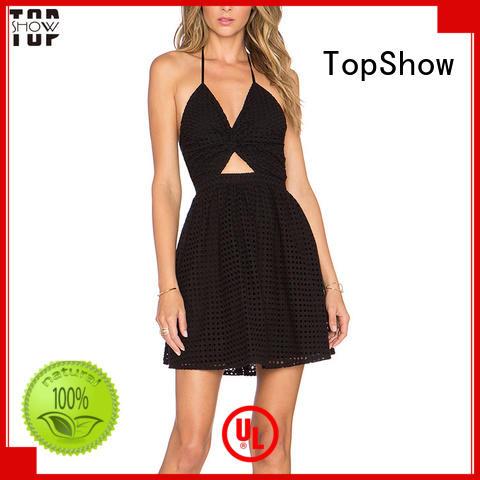 Hot dress manufacturers draped TopShow Brand