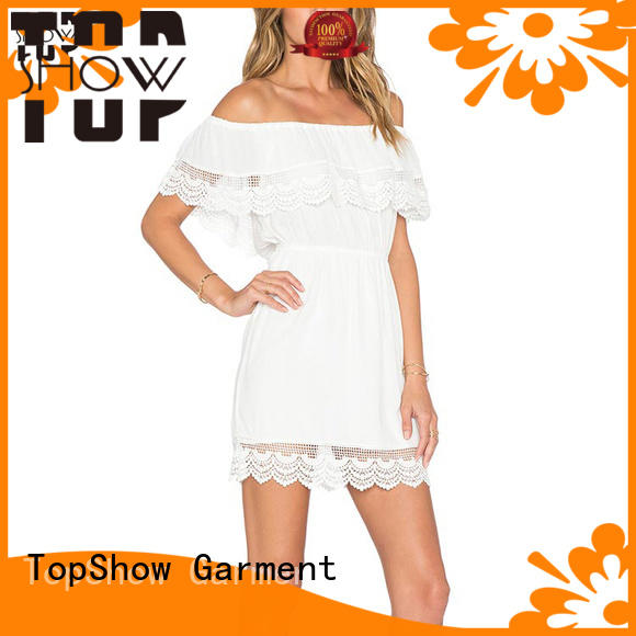 TopShow backless mini dress for wholesale factory price
