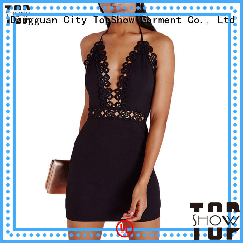 TopShow gorgeous mini dress clubwear for business trip