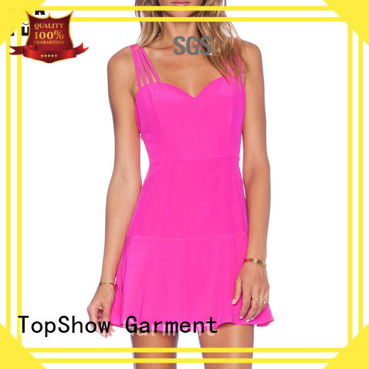 denim sexy pink mini dress producer with good price TopShow