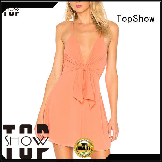 TopShow splendid lace mini dress factory price for woman