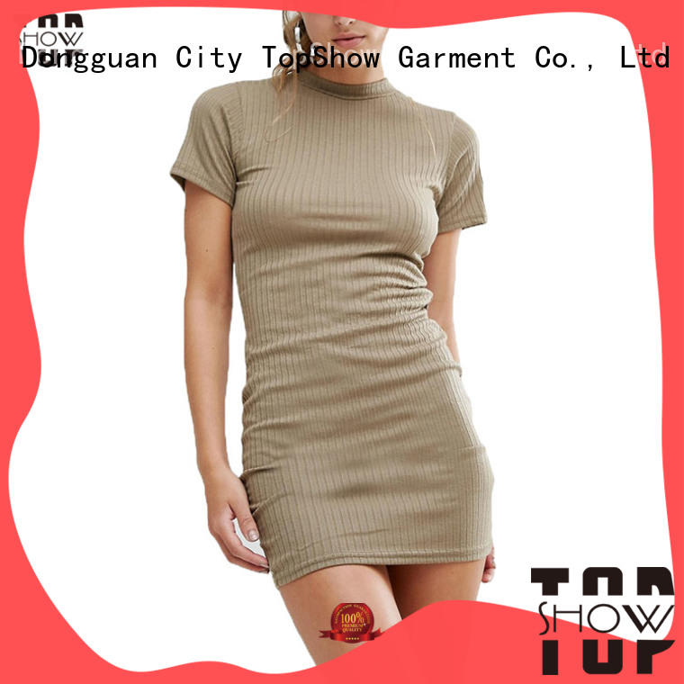 TopShow stunning simple bodycon dress quality