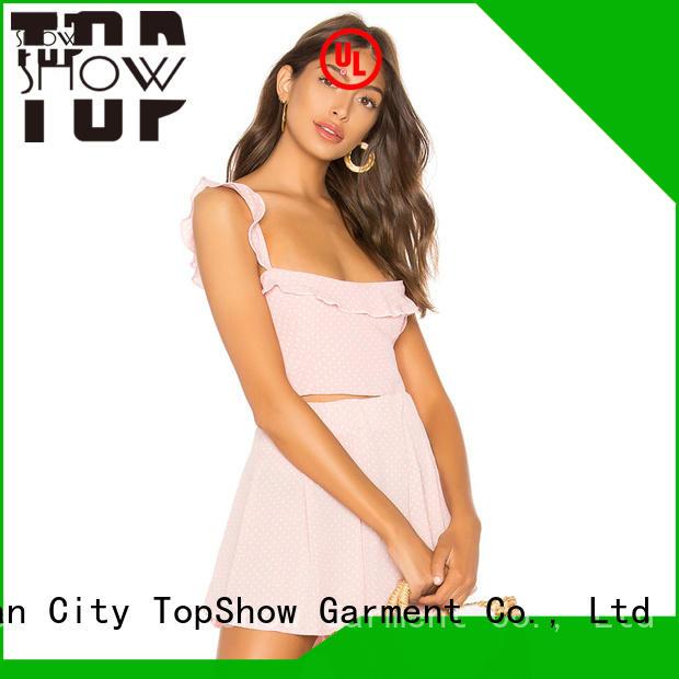 TopShow Custom ladies bodycon dresses company for ladies