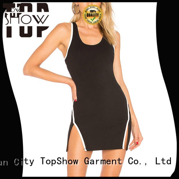 TopShow short dress fashion bulk production for girls