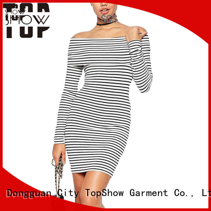 TopShow pink mini dress company for ladies