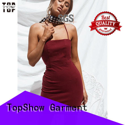 TopShow newly custom dresses manufacturer with good price