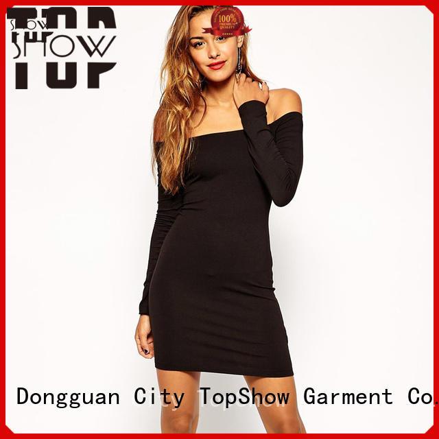 TopShow fitted mini dress supplier street wear