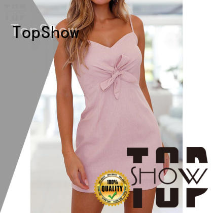 TopShow ladies sexy dress bulk production for business trip