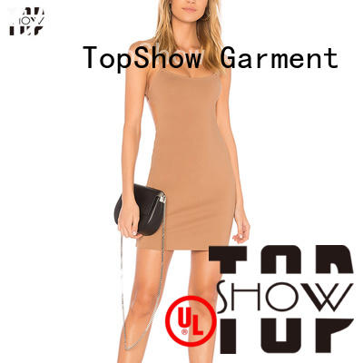 TopShow lovely halter mini dress company for woman