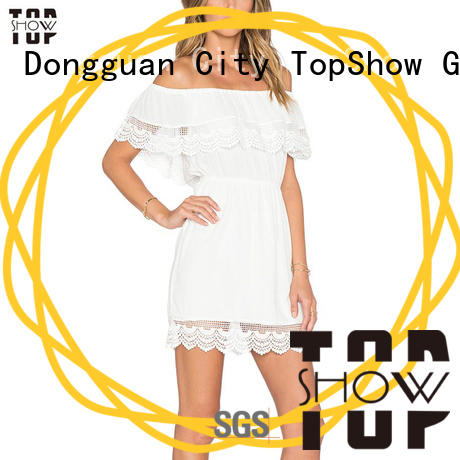 quality mini OEM dress customization TopShow