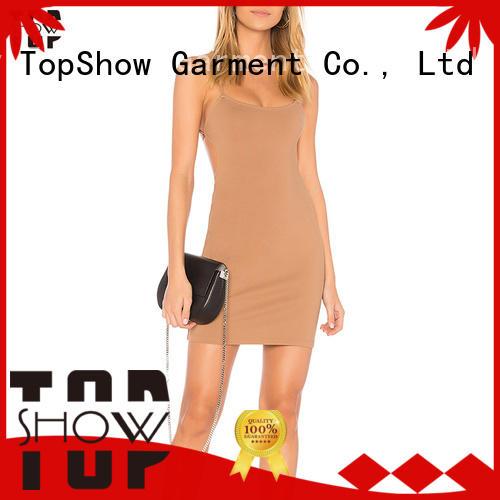 TopShow halter mini dress free design for ladies