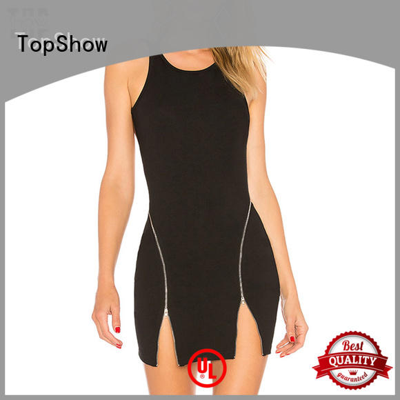 TopShow nude simple bodycon dress from manufacturer from China