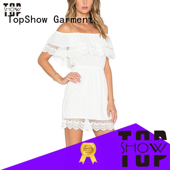 TopShow Summer backless bodycon dress free design with good price
