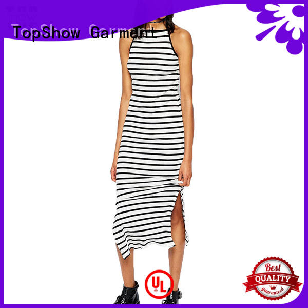 denim mini lace up dress factory price for girls TopShow