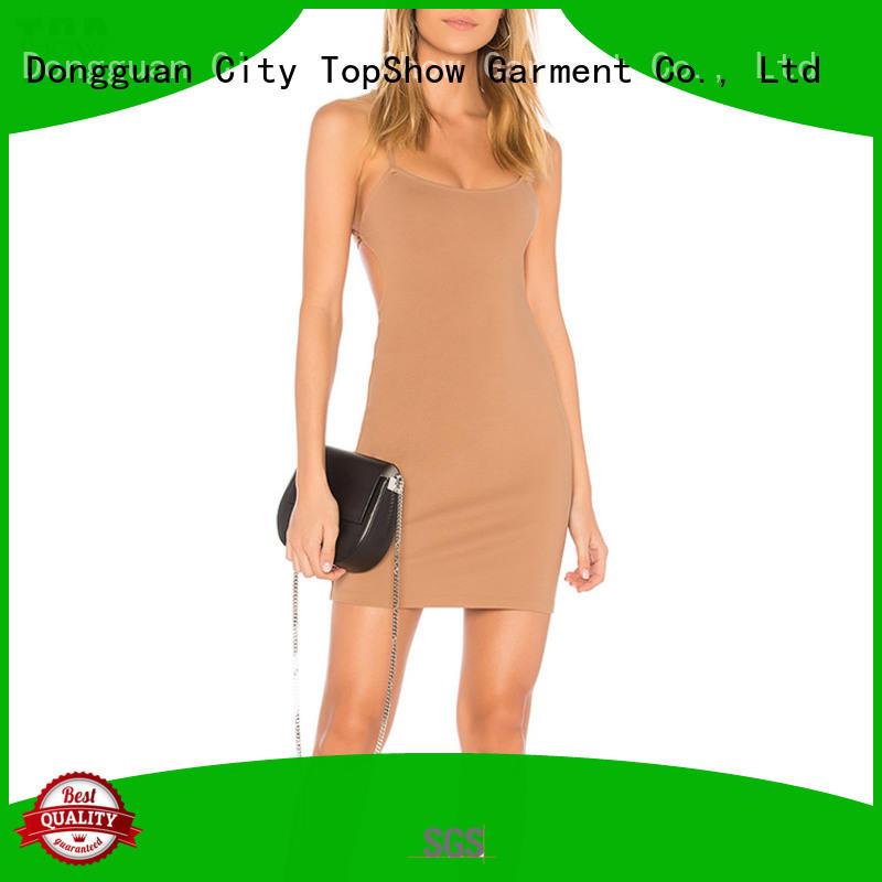 tied feminine dresses bulk production factory price