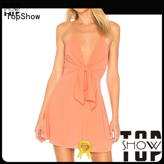 TopShow basic bodycon dress from manufacturer from China