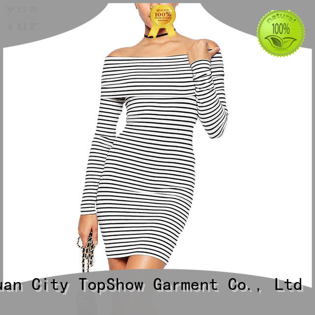 TopShow hot-sale white and black short dress button with many colors