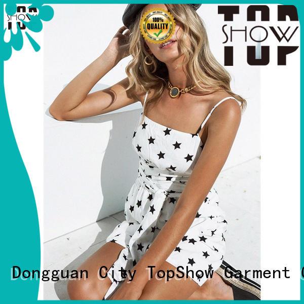 TopShow Custom lace mini dress Supply for cosmetics