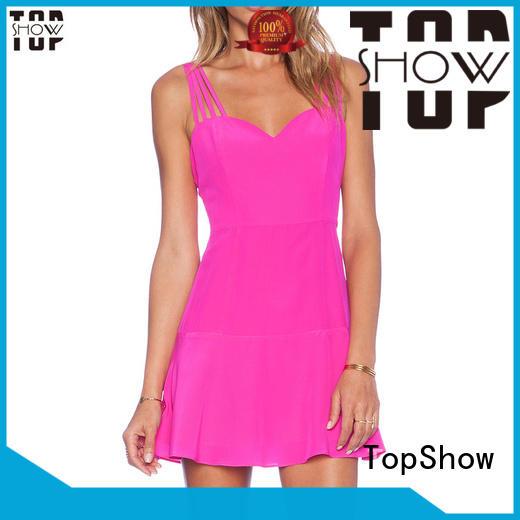 TopShow custom dresses bulk production for cosmetics
