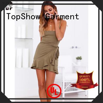 tulip off the shoulder mini dress for cosmetics TopShow