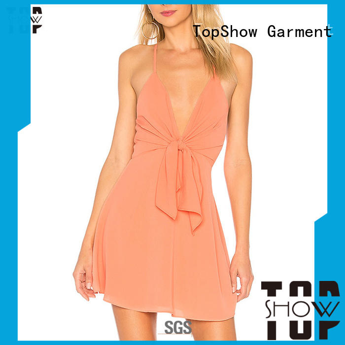 TopShow custom made dresses for wholesale for cosmetics