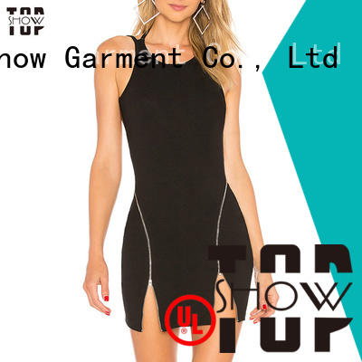 dresses red and black mini dress oem for shopping TopShow