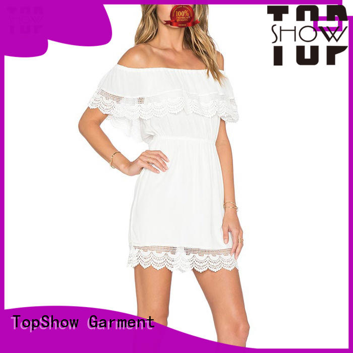 TopShow lovely halter mini dress tulip with many colors