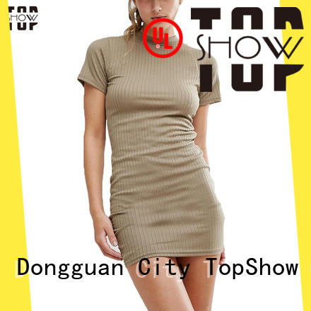 TopShow trending mini lace up dress vendor for party