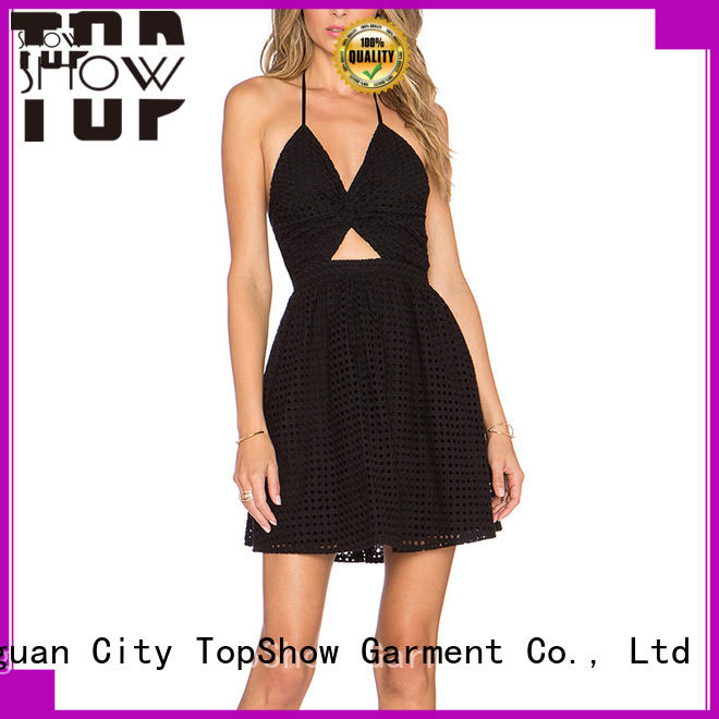 TopShow fitted mini dress Supply for female