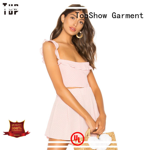 TopShow down pretty short dresses for woman