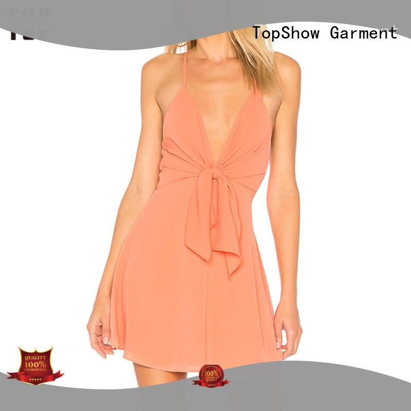 halter neck backless dress crochet TopShow