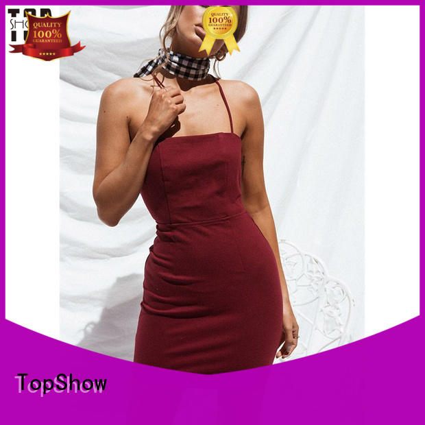TopShow lovely dress customization quality for female
