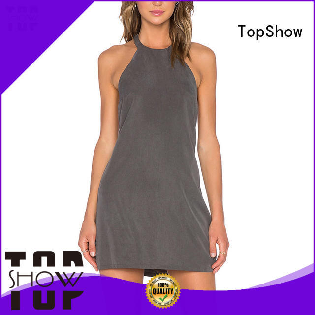 TopShow summer mini dress free design