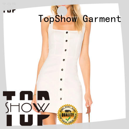 TopShow backless mini dress party wear