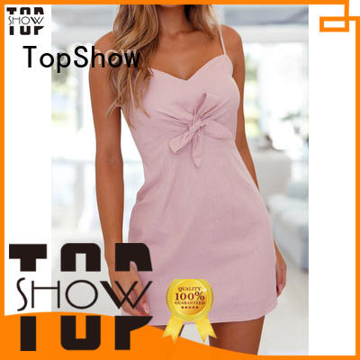 TopShow backless bodycon dress free design for girls