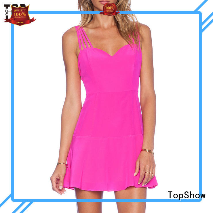 TopShow special strapless mini dress fashion for woman
