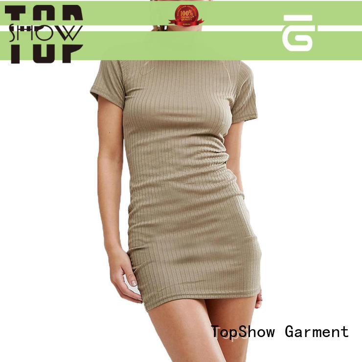 TopShow charming mini lace up dress Suppliers street wear