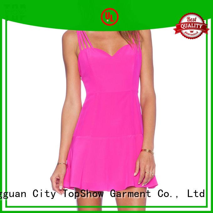 TopShow Brand summer cross dress customization manufacture
