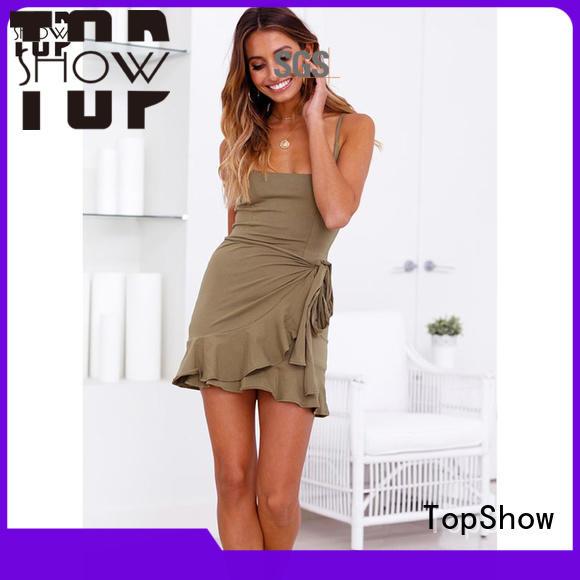TopShow special bodycon mini dress company street wear