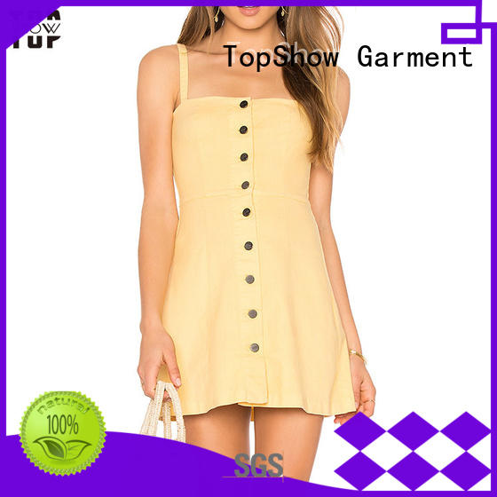 tied backless bodycon dress supplier with many colors TopShow