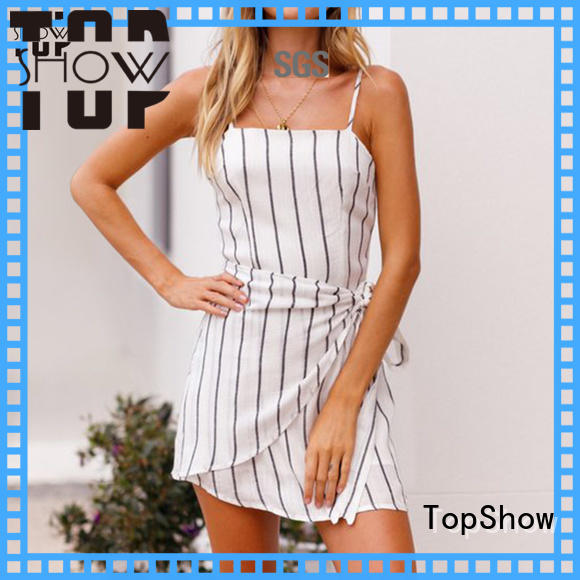 TopShow feminine dresses free design from China